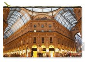 Vittorio Emanuele II Gallery Milan Italy Carry-all Pouch by Michal Bednarek