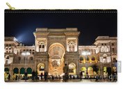 Vittorio Emanuele II Gallery Carry-all Pouch by Michal Bednarek