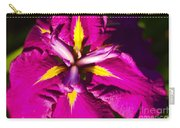 Vivid Iris Carry-all Pouch