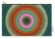 Vivid Peace - Circle Art By Sharon Cummings Carry-all Pouch