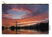 Vivid Skyscape - Summer Sunset At Toronto Beaches Marina Carry-all Pouch