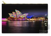 Vivid Sydney 2014 - Opera House 5 By Kaye Menner Carry-all Pouch