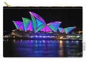 Vivid Sydney By Kaye Menner - Opera House... Patterns 2 Carry-all Pouch