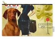 Vizsla Art Canvas Print - Bus Stop Movie Poster Carry-all Pouch