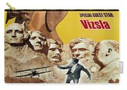 Vizsla Art Canvas Print - North By Northwest Movie Poster Carry-all Pouch