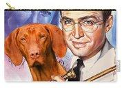 Vizsla Art Canvas Print - The Glenn Miller Story Movie Poster Carry-all Pouch