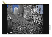 Vj Day Times Square New York City 1945 Color Added 2013 Carry-all Pouch