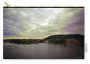 Vltava View Revisited - Prague Carry-all Pouch