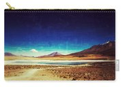 Volcano Lagoon Bolivia Vintage Carry-all Pouch