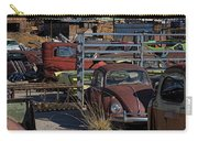 Volkswagen At Scrap Yard Carry-all Pouch