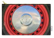 Volkswagen Vw Wheel Emblem Carry-all Pouch
