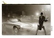 Volvo P1800 And Hot Detective Carry-all Pouch