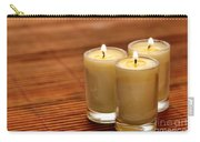 Votive Candle Burning Carry-all Pouch