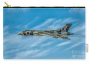 Vulcan Bomber Carry-all Pouch by Adrian Evans