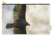 Vulture In Color Carry-all Pouch