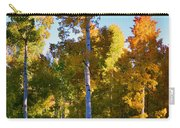 Aspens In Vertical Carry-all Pouch