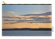 Wachusett Reservoir Sunset Carry-all Pouch