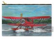 Waco Cabin Biplane Circa 1930 Carry-all Pouch