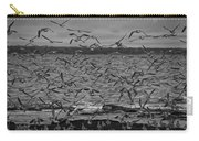 Wading Birds-black And White Carry-all Pouch