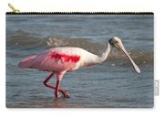 Wading Spoonbill Carry-all Pouch