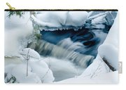 Wagner Creek In Winter Carry-all Pouch