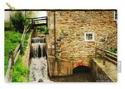 Wagner Grist Mill Carry-all Pouch by Paul Ward
