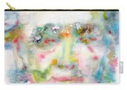 Wagner - Watercolor Portrait Carry-all Pouch