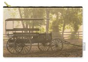 Wagon - Abe's Buggie Carry-all Pouch by Mike Savad