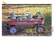 Wagon Full Of Frogs Carry-all Pouch