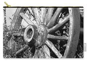 Wagon Wheel - No Where To Go - Bw 01 Carry-all Pouch