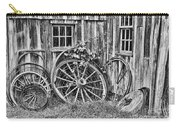 Wagons Lost Carry-all Pouch by Crystal Nederman