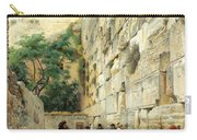 Wailing Wall Carry-all Pouch