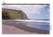 Waipio River Empties Into The Pacific Ocean Carry-all Pouch