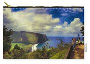 Waipo Valley Lookout-big Island Hawaii Carry-all Pouch