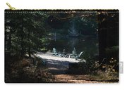 Waiting Adirondacks Carry-all Pouch