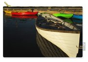 Waiting At The Dock Carry-all Pouch by Karol Livote