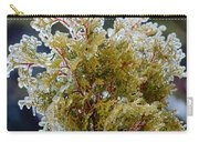 Waiting For Spring - Ice Storm - Closeup Carry-all Pouch