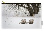 Waiting For The Right Season As An Oil Painting Carry-all Pouch