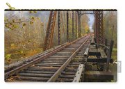 Waiting For The Train Carry-all Pouch by Debra and Dave Vanderlaan
