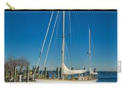 Waiting For Warmer Weather At The Dock Carry-all Pouch