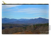 Waiting For Winter In The Blue Ridge Mountains Carry-all Pouch
