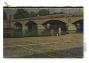 Waiting Paris France Carry-all Pouch
