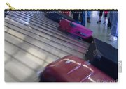 Waiting People Claim Baggage Airport Conveyor Belt Carry-all Pouch