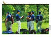 Waiting To Go To Bat Carry-all Pouch by Susan Savad
