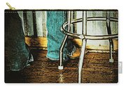 Waiting Waitress  Carry-all Pouch by Chris Berry