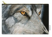 Waiting Wolf Carry-all Pouch