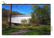 Walcott Covered Bridge 3 Carry-all Pouch