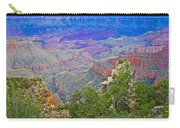 Walhala Overlook On North Rim Of Grand Canyon-arizona  Carry-all Pouch