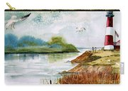 Walk Along The Shore Carry-all Pouch