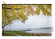 Walk Along The Shoreside Carry-all Pouch
